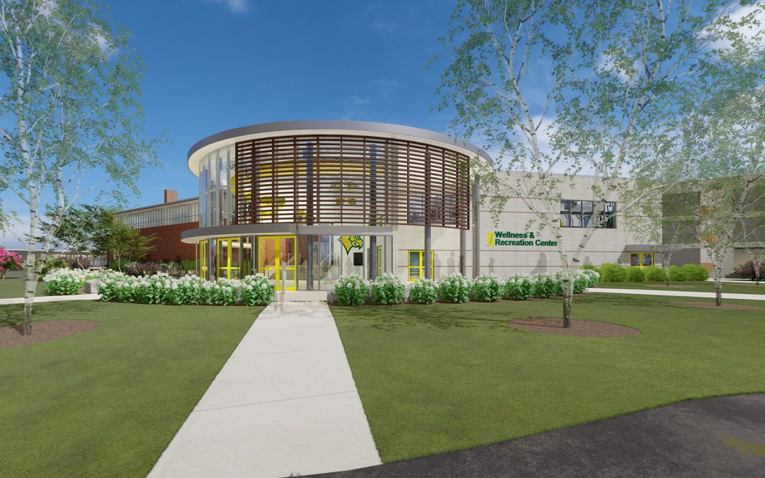 Construction for the Felician WaRC Wellness and Rec Center is Almost Complete